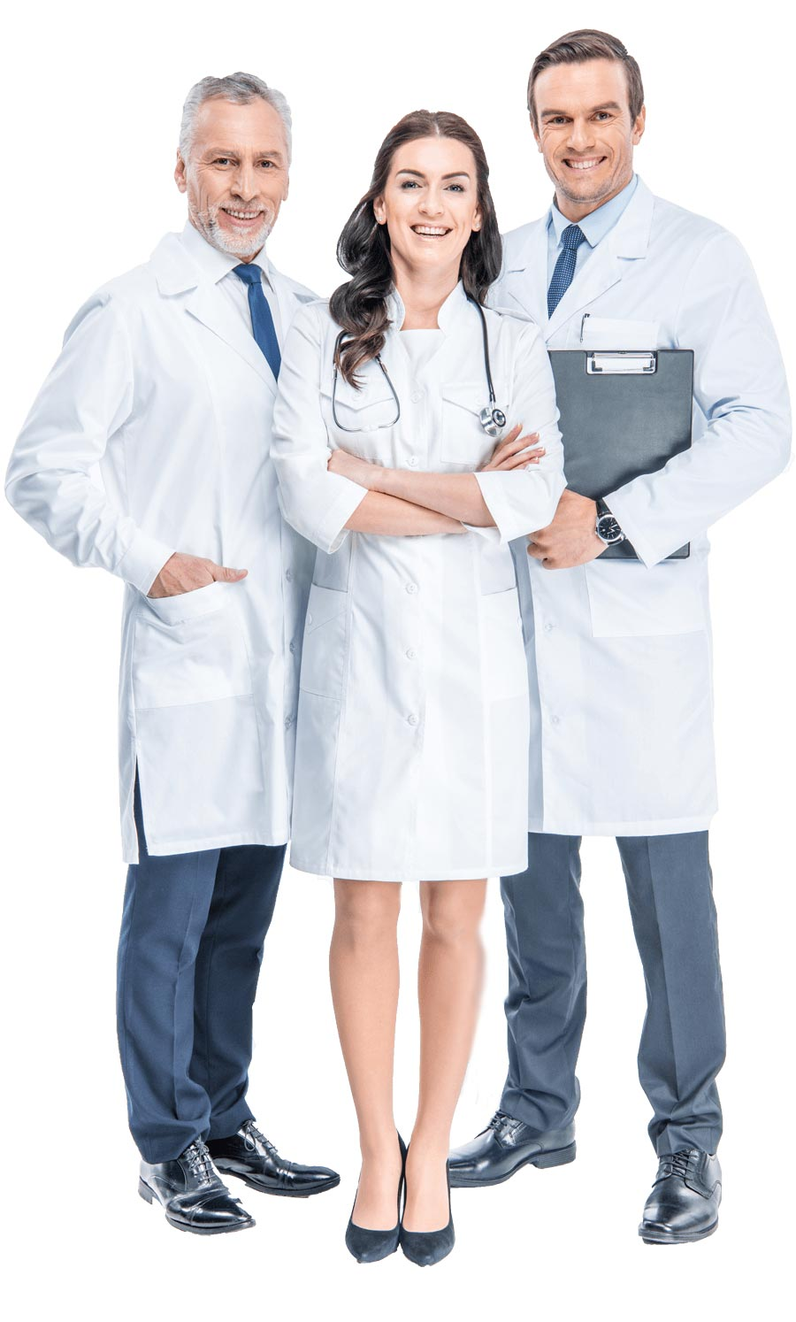 Trio of qualified pain doctors from integrative medicine. Orlando Auto injury Doctor
